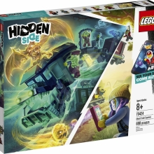 LEGO Hidden Side 70424 Vlak duchov