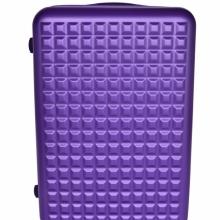Metalic purple cestovný kufor veľký