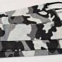 13 Maskáčové rúška sivé