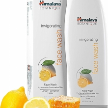 Himalaya Botanique osviežujúci face wash s citrónom