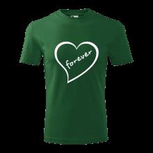 Tričko Srdce Forever