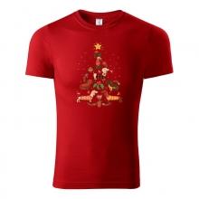 Vianočné tričko JAZVEČÍK