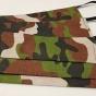 12 Maskáčové rúška zelené